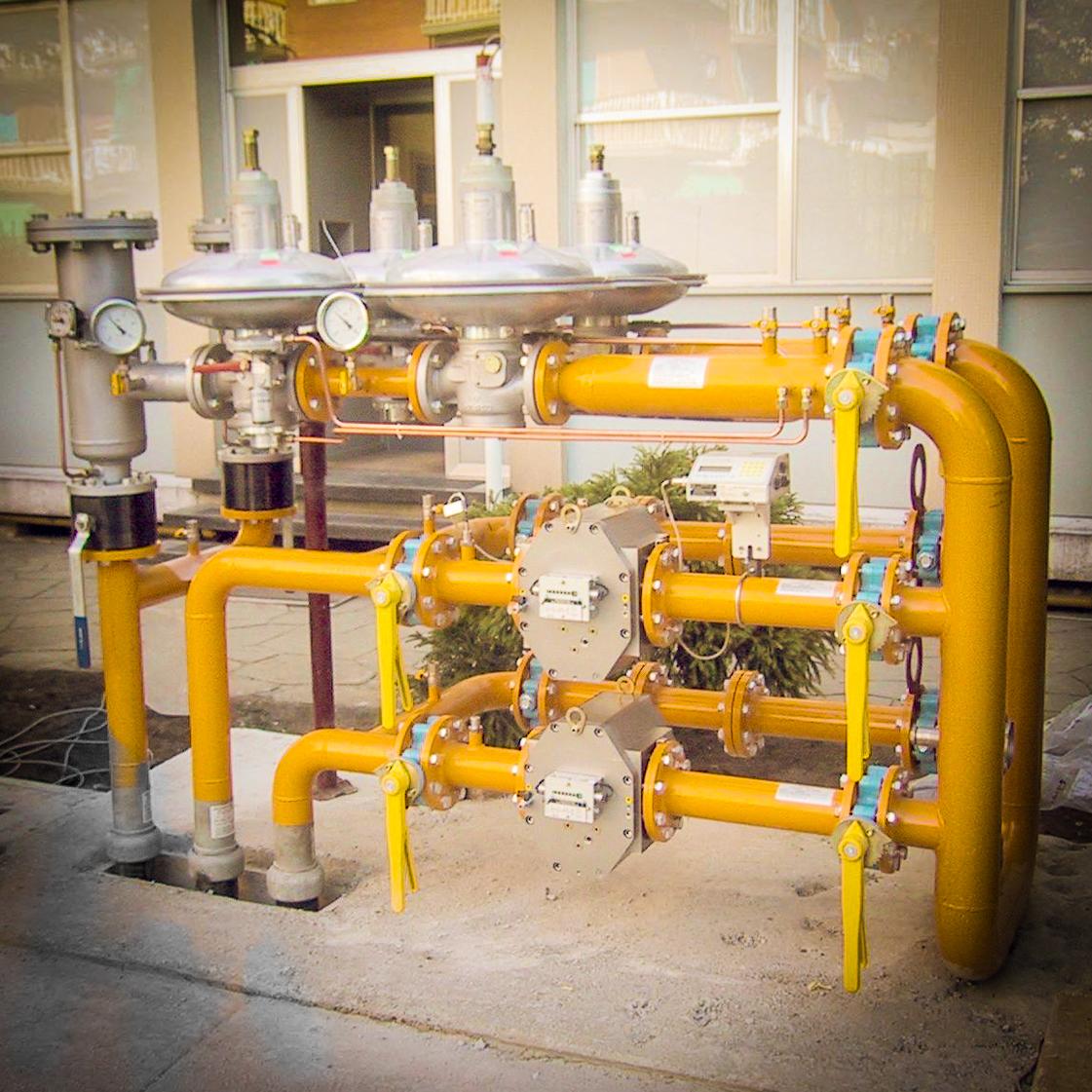 Gruppi finali regolazione e misura fiscale gas naturale